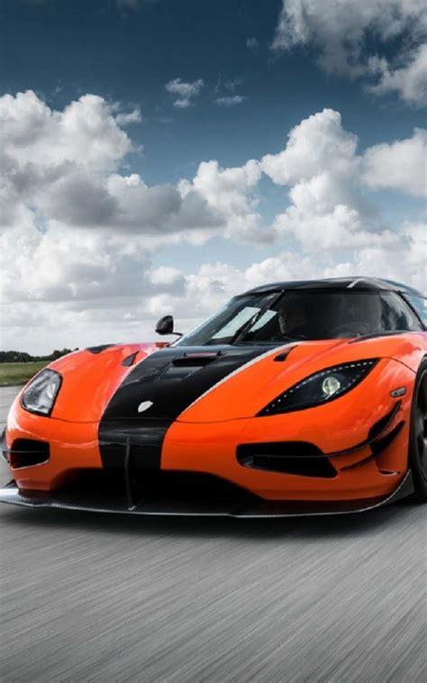 orange black ferrari  pure  ultra hd mobile