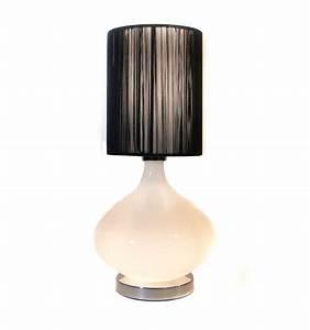 Abat Jour Design : abat jour pour lampe design noir 20 cm geneix ~ Melissatoandfro.com Idées de Décoration