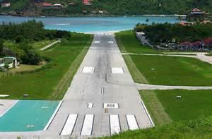 St. Barts Airport Runway