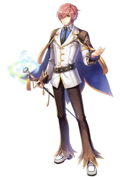 male genetic  costume official illustration ragnarok