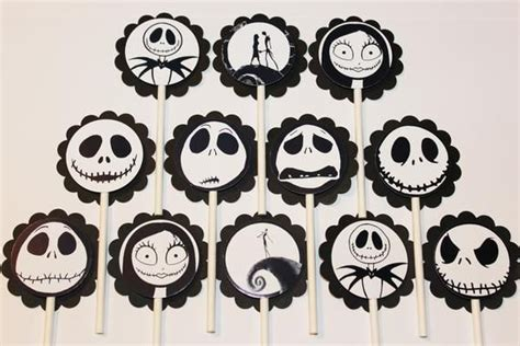 Nightmare Before Christmas Cake Topper Svg  – 201+ Crafter Files