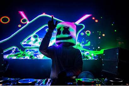 Marshmello Dj Wallpapers Backgrounds Hdqwalls Anime