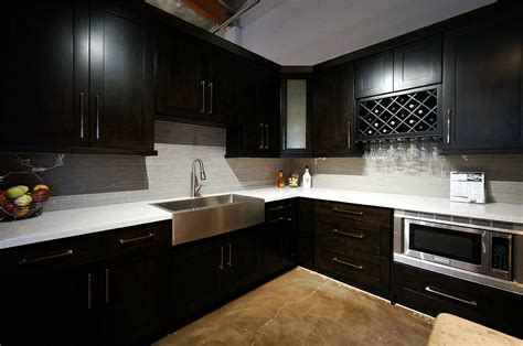 Espresso Kitchen Base Cabinets by Espresso Shaker Cabinets Ready To Assemble Best