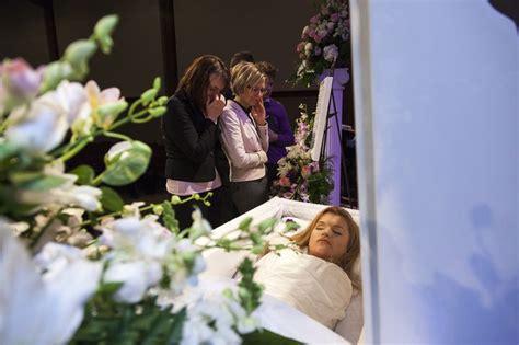 liana kotsura   open casket   funeral