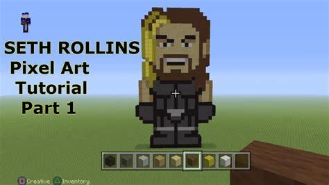 Minecraft Pixel Art Tutorial