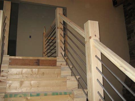 attic door diy modern interior railings diy stair railing project
