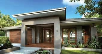 contemporary house plans single story single storey facade new house facades