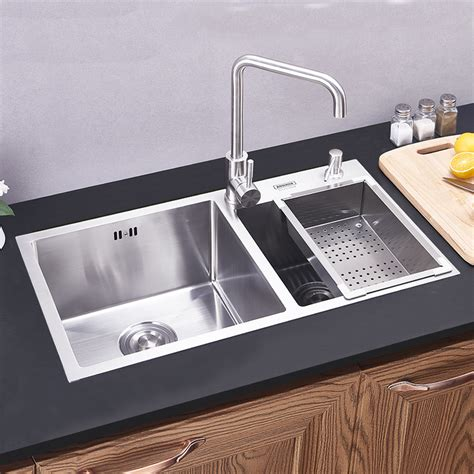 Modern Kitchen Sink by Modern Kitchen Sink 2 Bowls Made Brushed 304