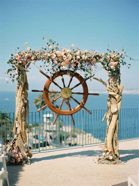 hottest summer wedding altar ideas deer pearl flowers