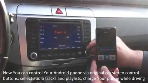 Can You Add A Usb To A Car Stereo - android phone usb interface for vw seat audi skoda wmv