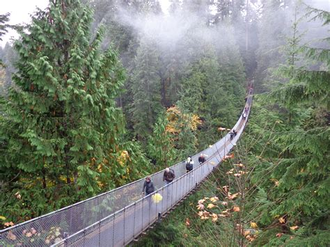 Vancouver Landmarks Capilano Suspension Bridge