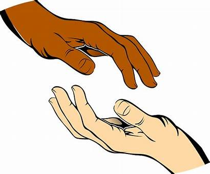 Hands Pixabay Give Take Vector Graphic Brown
