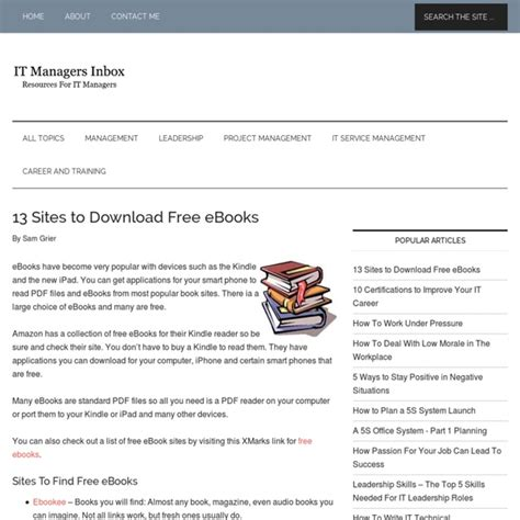 Text Book Free Download Sites