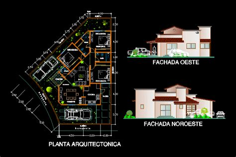 house  dwg plan  autocad designs cad