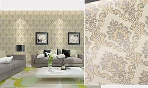 Self adhesive Damask Wallpaper 10 mtrs Vinyl Contact Paper ...