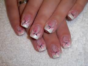 Cute french nail art designs for working women