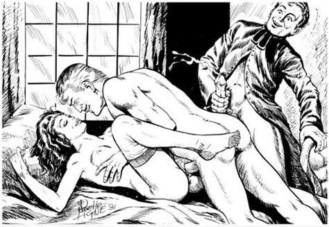 Erotic Vintage Drawings 103 Pics Xhamster