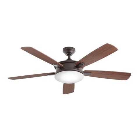 bronze ceiling fan with light and remote home decorators collection daylesford 52 in led indoor