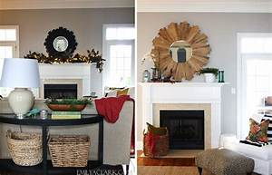 Mantel Decorating: Why Scale Matters - Emily A Clark