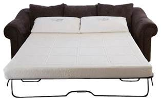 Sectional Sofa Denver by Gel Memory Foam Sofabed Sleeper Replacement Mattress