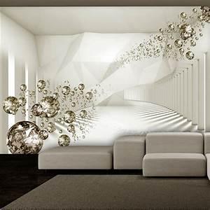 vlies fototapete 3 farben zur auswahl tapeten abstrakt With markise balkon mit 3d tapete modern