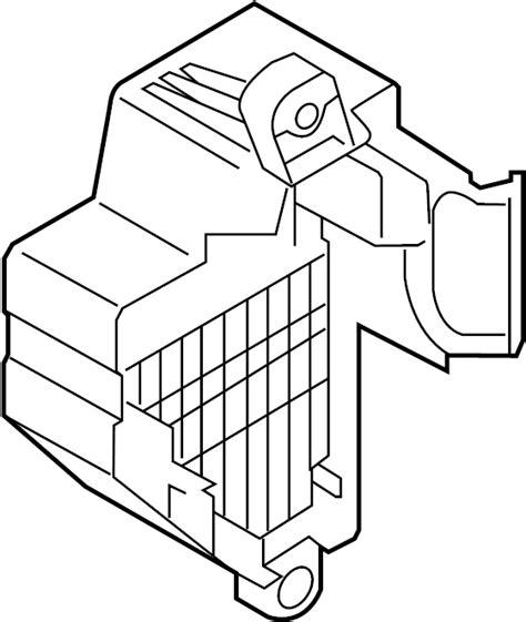 Fuse Box Passenger Compartment Wagon