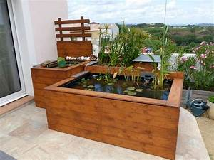 Bassin De Terrasse : bassin hors sol de terrasse de patrice b ~ Premium-room.com Idées de Décoration