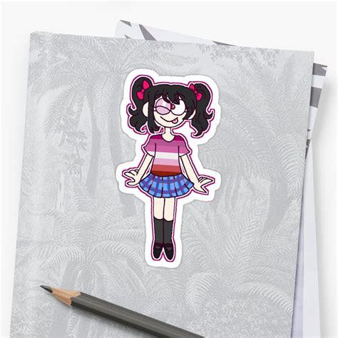 nico yazawa pride sticker by nozomeme redbubble