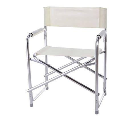 sedie regista alluminio sedia regista bonera in alluminio marca design
