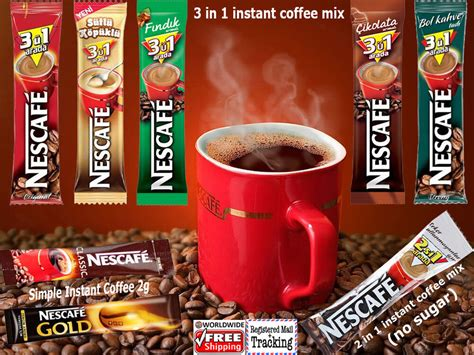 It all relies on the roast. ORIGINAL NESCAFE INSTANT COFFEE 3 IN 1 / 2 IN 1 AND SIMPLE (STICKS)   eBay