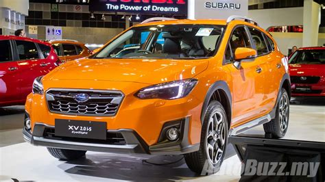 subaru xv  launched  singapore