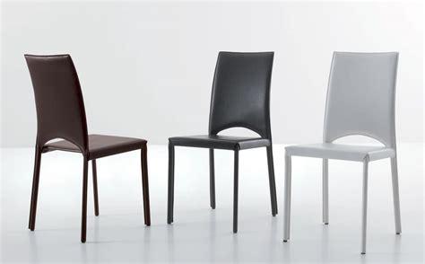 Sedute Sedie Moderne Rivestite In Pelle Senza Braccioli
