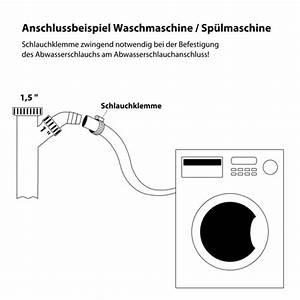 Abwasser Waschmaschine Wandanschluss : geruchsverschluss flexibel mit anschluss f r ~ Michelbontemps.com Haus und Dekorationen