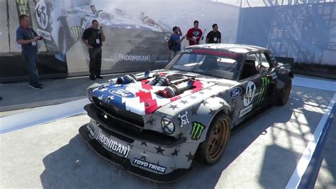 hoonigan mustang twin turbo twin turbo awd ford mustang sema 2016 youtube
