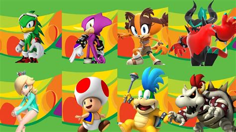mario sonic   rio  olympic games wii