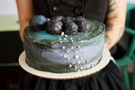 vegan dollhouse vegan galaxy cake
