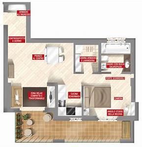 44 mq: una stanza in più in casa Cose di Casa