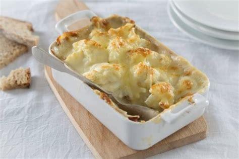 cours de cuisine à nantes recette de gratin de chou fleur et béchamel facile et rapide