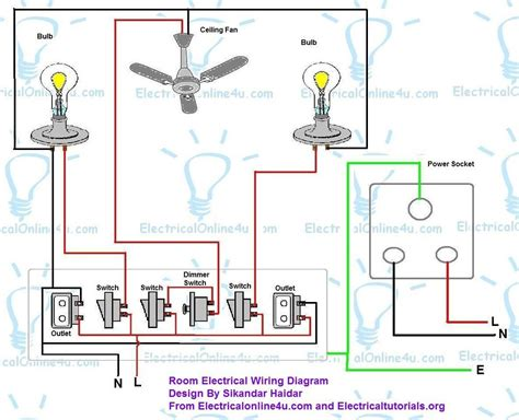 electrical wiring diagram in house electrical wiring