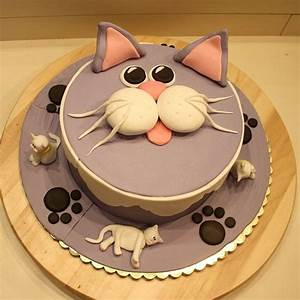189 best Cat Cakes images on Pinterest | Cat cakes ...