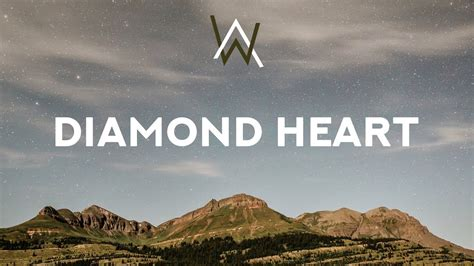 Alan Walker ‒ Diamond Heart (lyrics) Feat. Sophia Somajo