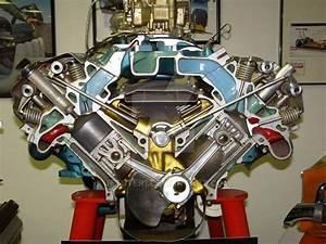 First Generation Chrysler Hemi V8  Note Dual Pattern