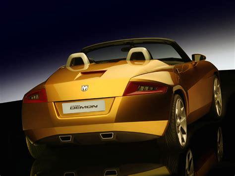 Dodge Demon Concept Specs Pictures Engine Review