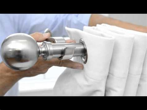 how to hang grommet drapes how to hang grommet curtains panels