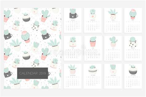 printable cute printable calendar template calendar