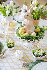 easter, table, decorations, , u0026, place, setting, ideas