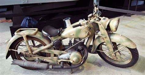 The Second World War (wwii) Motorcycles
