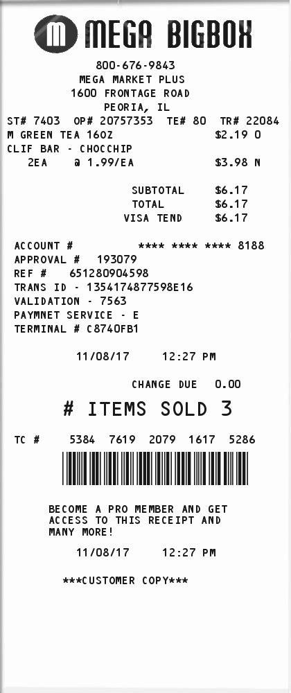 retailer receipt expressexpense custom receipt maker