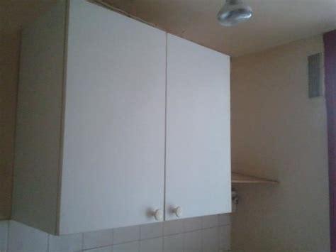 hauteur placard haut cuisine photo placard haut de cuisine