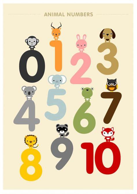 children decor alphabet  number posters kids wall art
